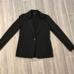 Armani Exchange charcoal dark gray blazer, S